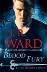 Blood Fury (Black Dagger Legacy, #3) by J.R. Ward